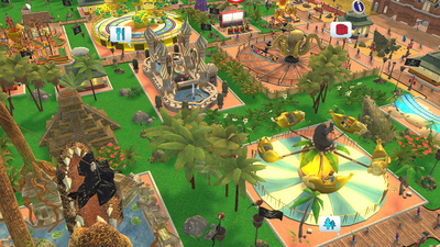 Rollercoaster Tycoon Adventures Screenshot 4
