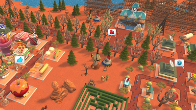Rollercoaster Tycoon Adventures Screenshot 1