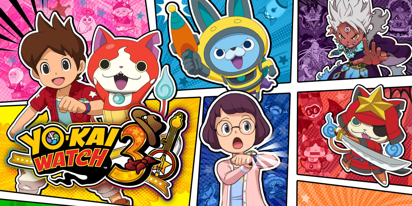 Yo-Kai Watch 3 Masthead