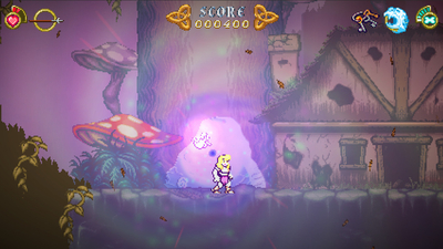 Battle Princess Madelyn Masthead