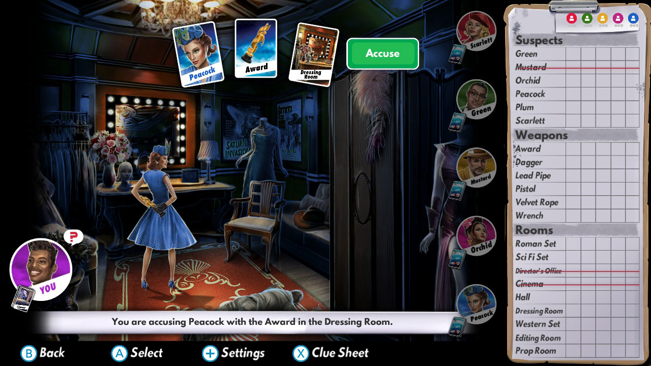 Clue: The Classic Mystery Game for PC, Switch Reviews - OpenCritic