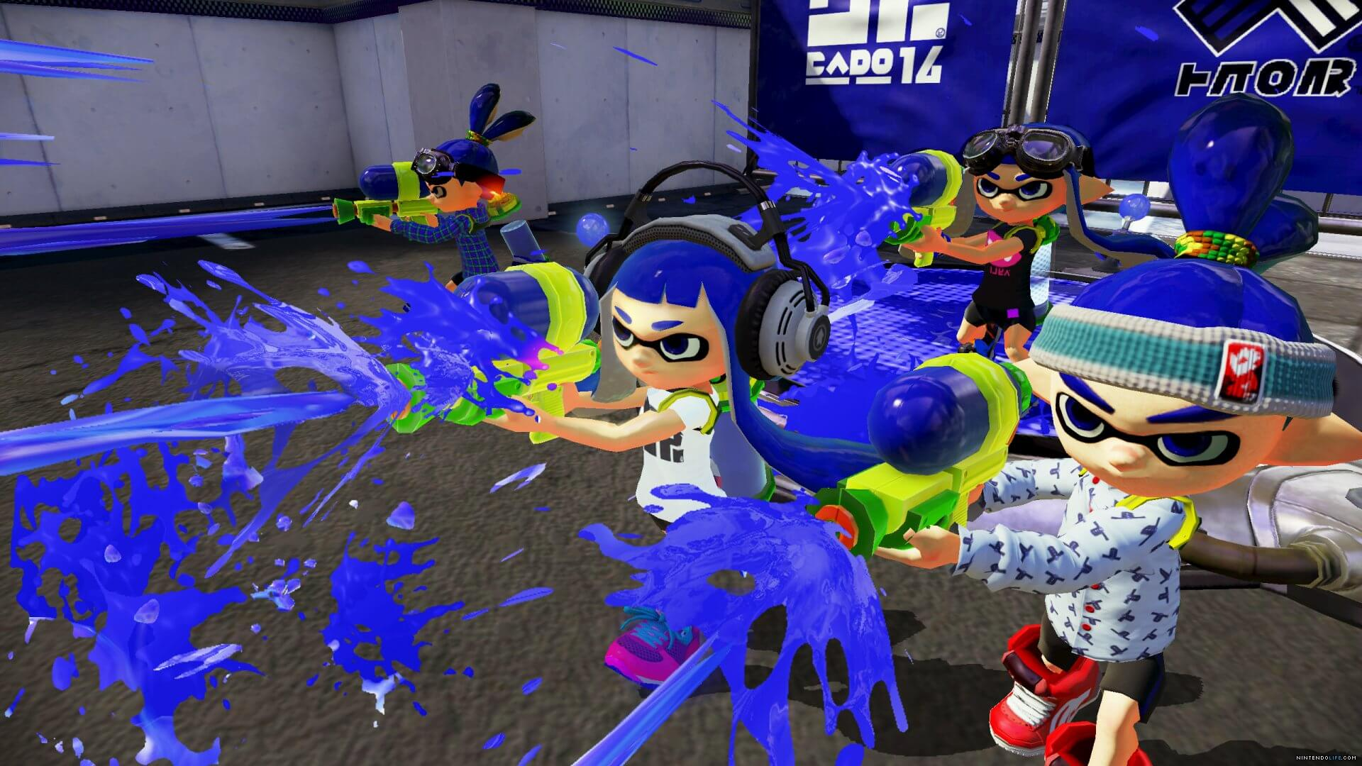 Splatoon Masthead