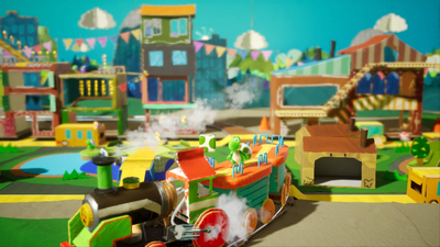 Yoshi's Crafted World Screenshot 1