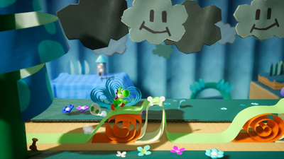 Yoshi's Crafted World Screenshot 3