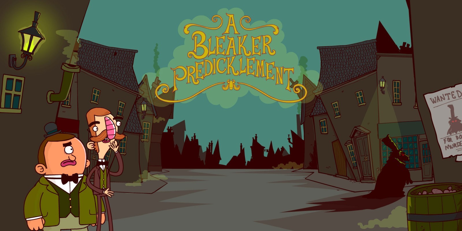 The Adventures of Bertram Fiddle: Episode 2: A Bleaker Predicklement Masthead