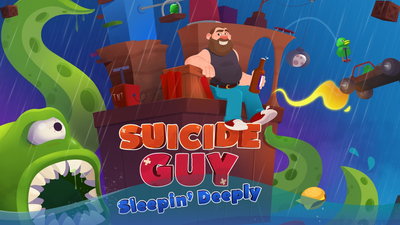 Suicide Guy: Sleepin' Deeply Masthead