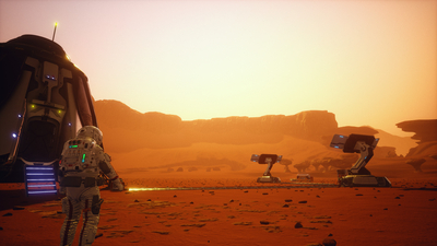 JCB Pioneer: Mars Screenshot 2