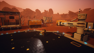 JCB Pioneer: Mars Screenshot 8