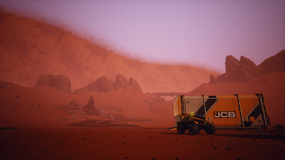JCB Pioneer: Mars Screenshot 1