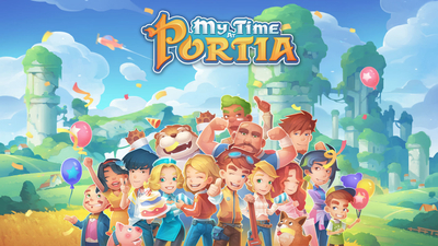 My Time at Portia Masthead