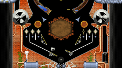 Super Steampunk Pinball 2D Screenshot 1