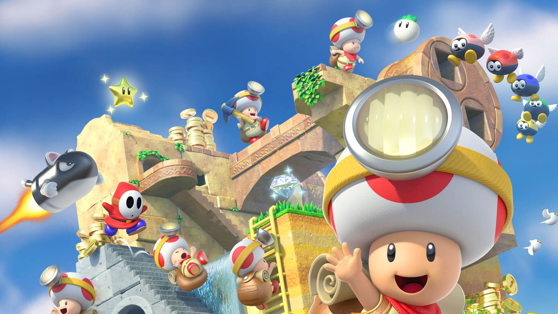 Captain Toad: Treasure Tracker for Wii-U, 3DS, Switch