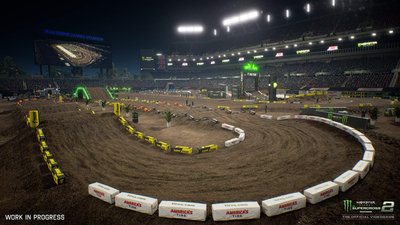 Monster Energy Supercross 2 Screenshot 1