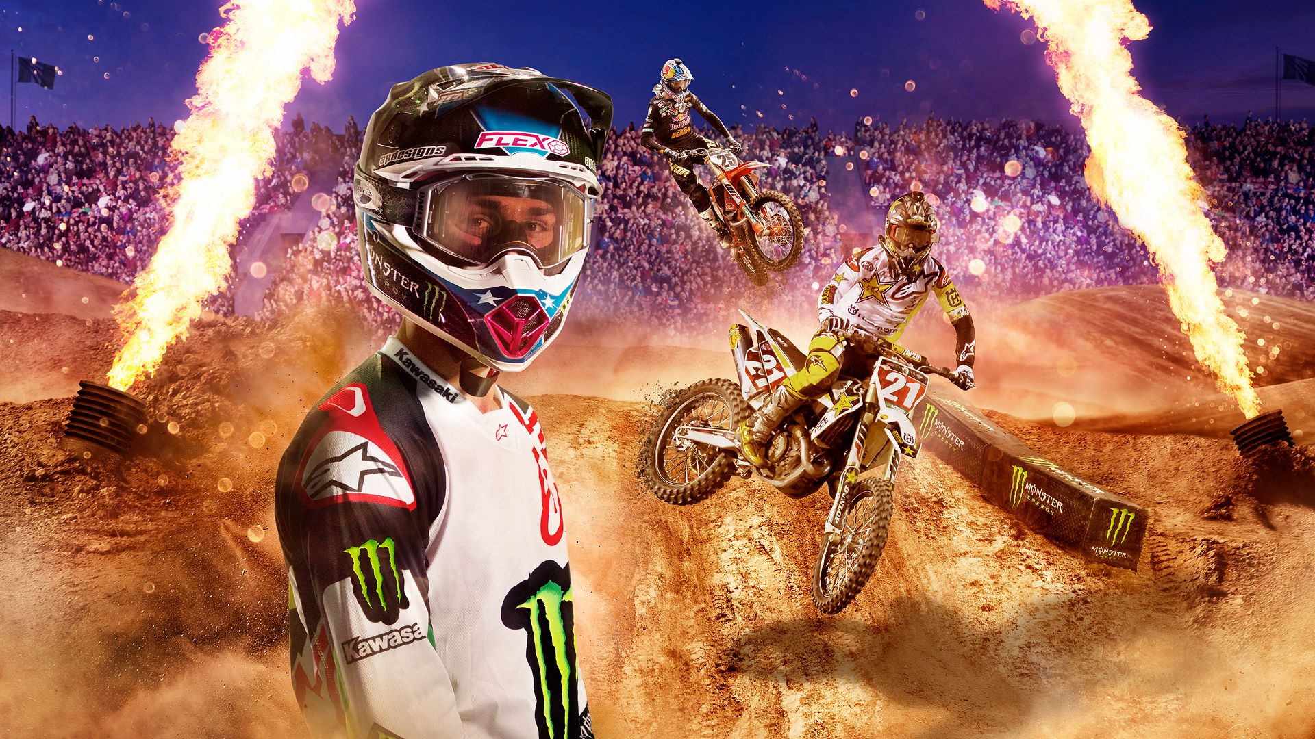 Monster Energy Supercross 2 Masthead