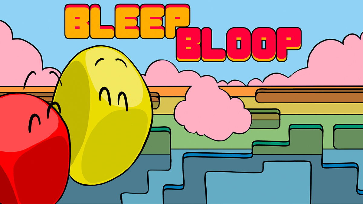 Bleep Bloop Masthead