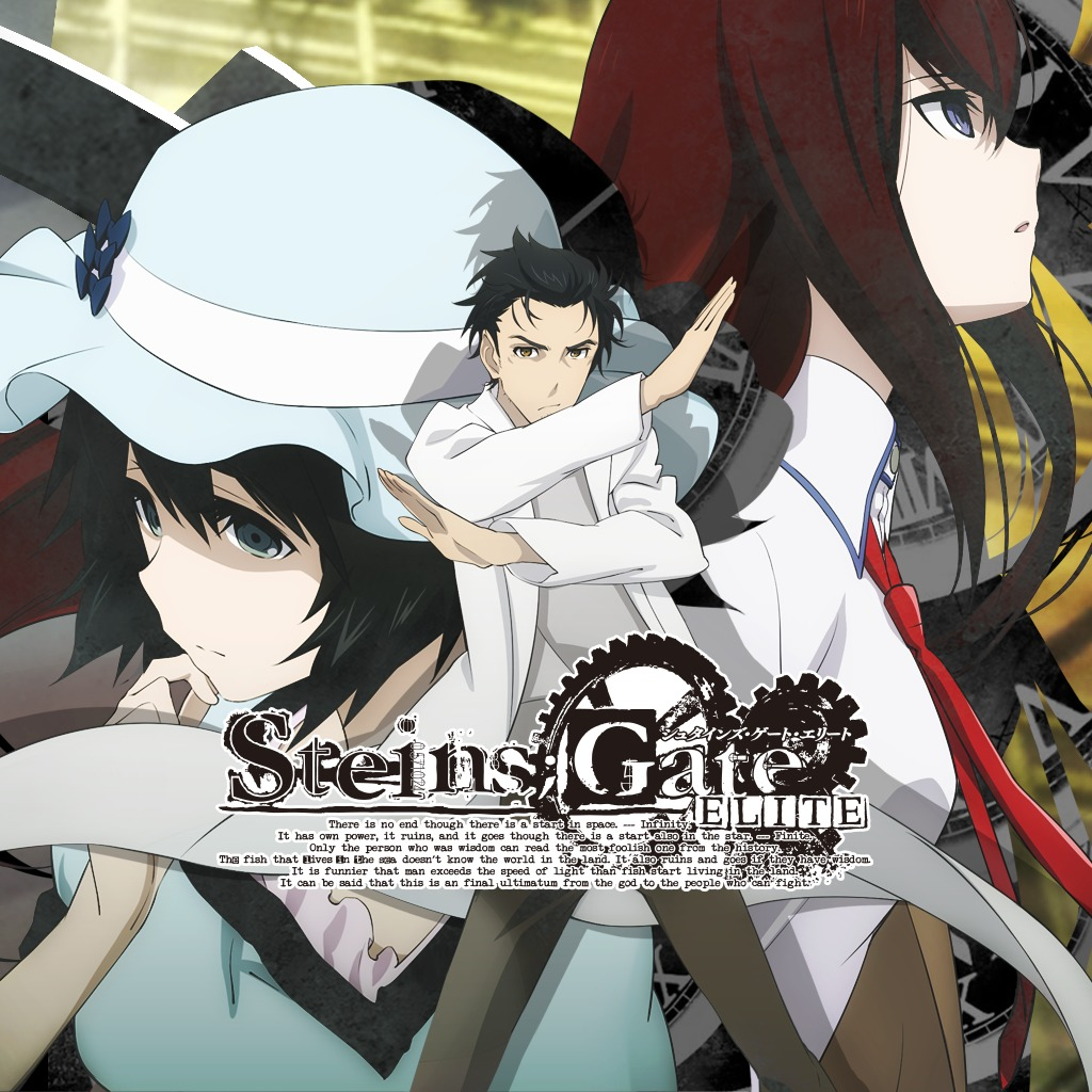 STEINS;GATE ELITE Masthead