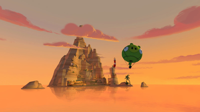 Angry Birds VR: Isle of Pigs Screenshot 1