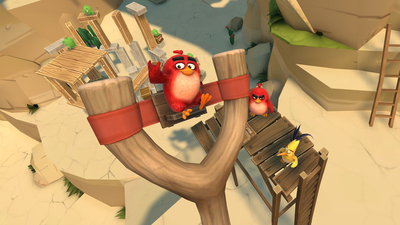 Angry Birds VR: Isle of Pigs Screenshot 2