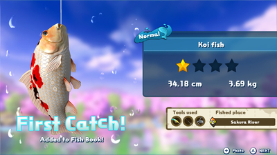 Fishing Star: World Tour Screenshot 2