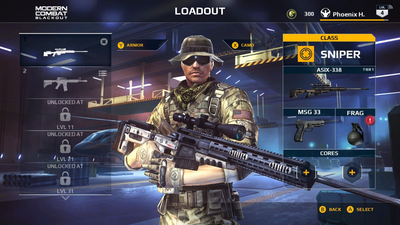 Modern Combat Blackout Screenshot 4