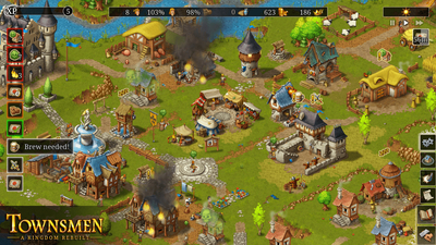 Townsmen - A Kingdom Rebuilt Screenshot 5