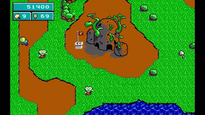 Commander Keen in Keen Dreams Screenshot 2