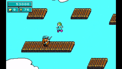 Commander Keen in Keen Dreams Screenshot 1