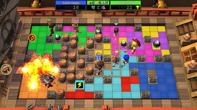 Blast Zone! Tournament Screenshot 2