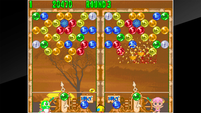 ACA NEOGEO PUZZLE BOBBLE 2 Screenshot 1