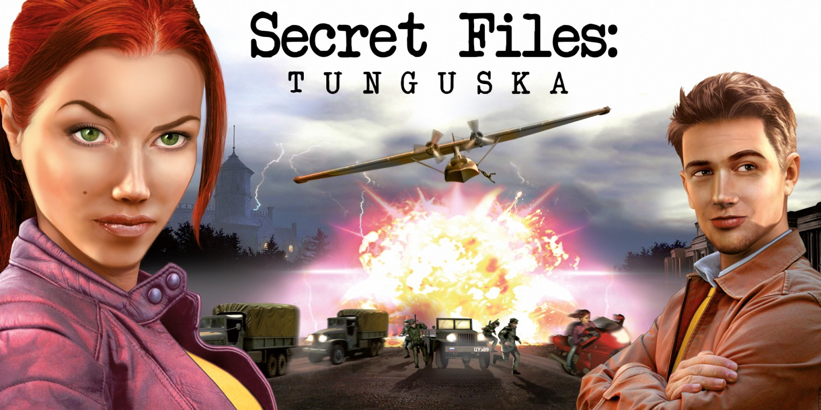 Secret Files: Tunguska - Nintendo Switch Edition Masthead