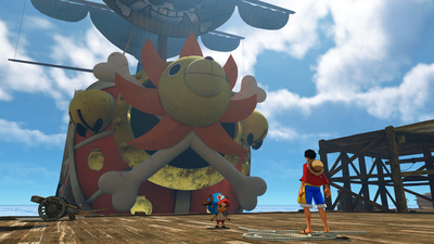 ONE PIECE World Seeker Screenshot 2