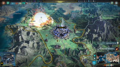 Age of Wonders: Planetfall Screenshot 9