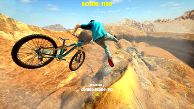 Shred! 2 - Freeride Mountainbiking Screenshot 1