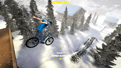 Shred! 2 - Freeride Mountainbiking Screenshot 3