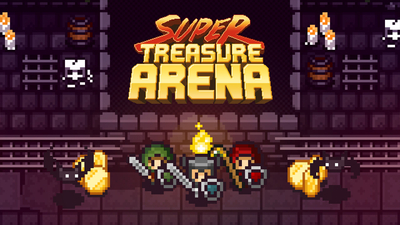 Super Treasure Arena Masthead