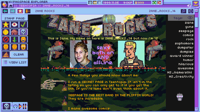 Hypnospace Outlaw Screenshot 2