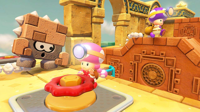 Captain Toad: Treasure Tracker Special Episode Screenshot 3