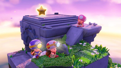 Captain Toad: Treasure Tracker Special Episode Screenshot 1
