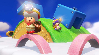 Captain Toad: Treasure Tracker Special Episode Screenshot 2