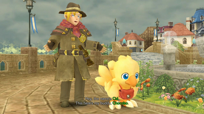Chocobo Mystery Dungeon: Every Buddy! Screenshot 1