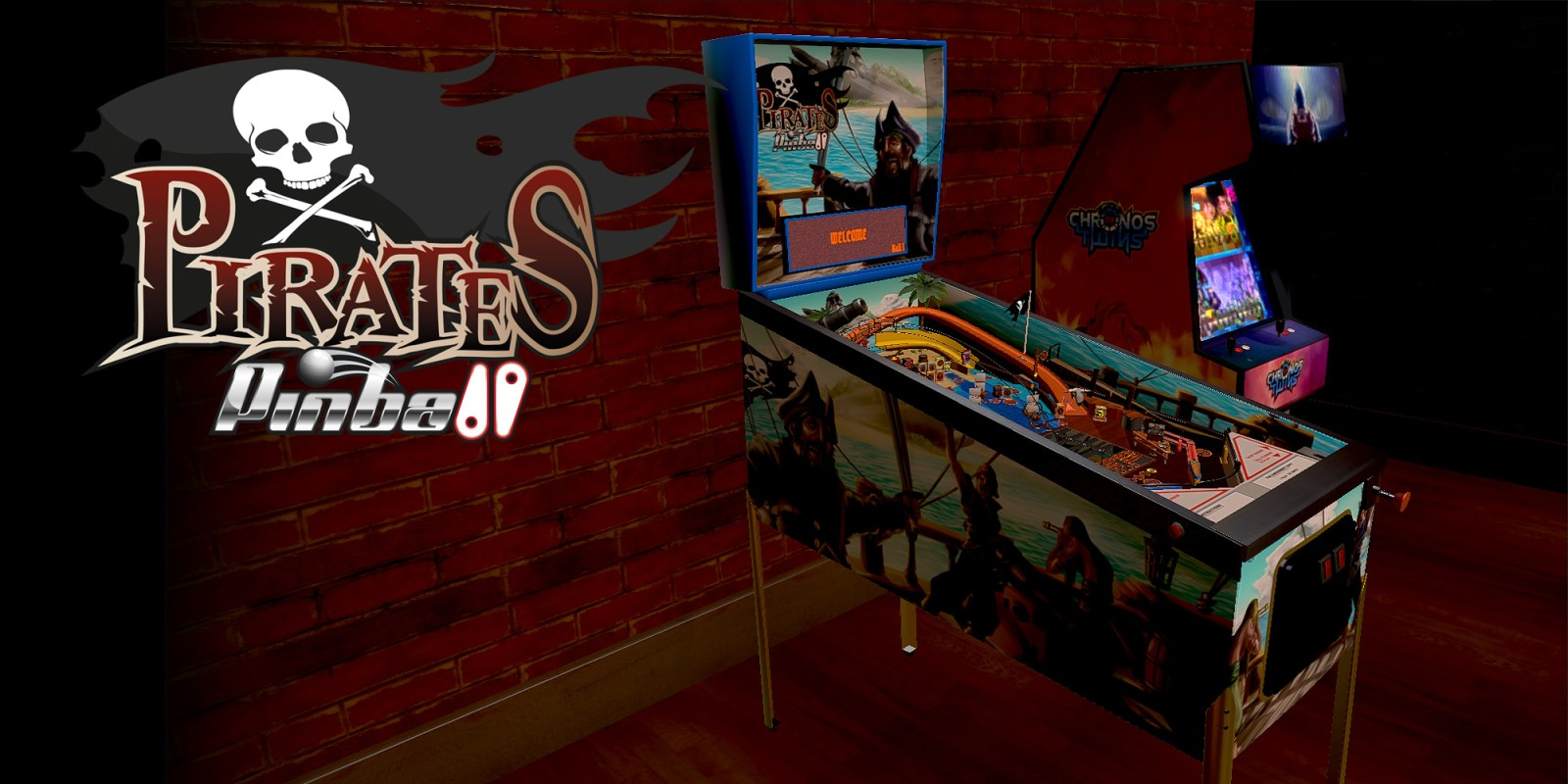 Pirates Pinball Masthead