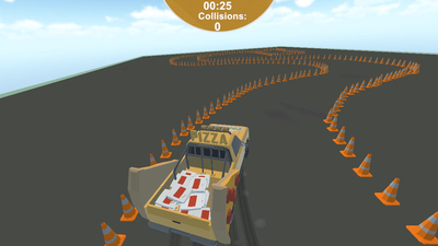 Pizza Parking Screenshot 2