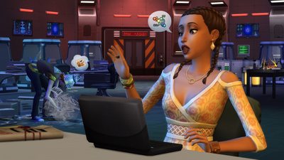 The Sims 4: StrangerVille Screenshot 2