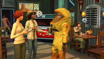 The Sims 4: StrangerVille Screenshot 1