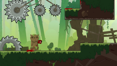 Super Meat Boy Forever Screenshot 1