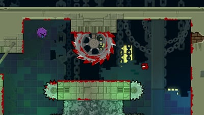 Super Meat Boy Forever Screenshot 2