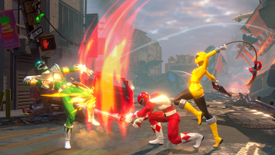 Power Rangers: Battle For The Grid Screenshot 3