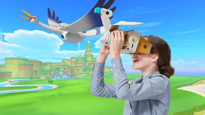 Nintendo Labo VR Kit Screenshot 5