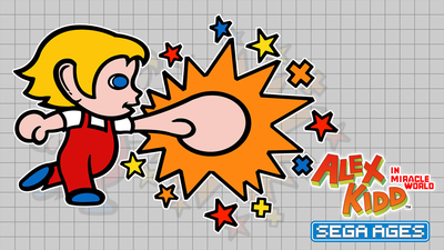 SEGA AGES Alex Kidd In Miracle World Masthead