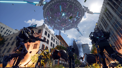 Earth Defense Force: Iron Rain Screenshot 5